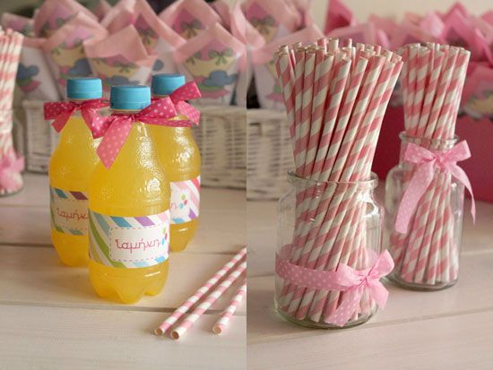 Lemonades for the guests