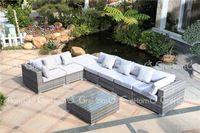 mimbre sofá de muebles de mimbre muebles de jardín al aire libre de mimbre al…