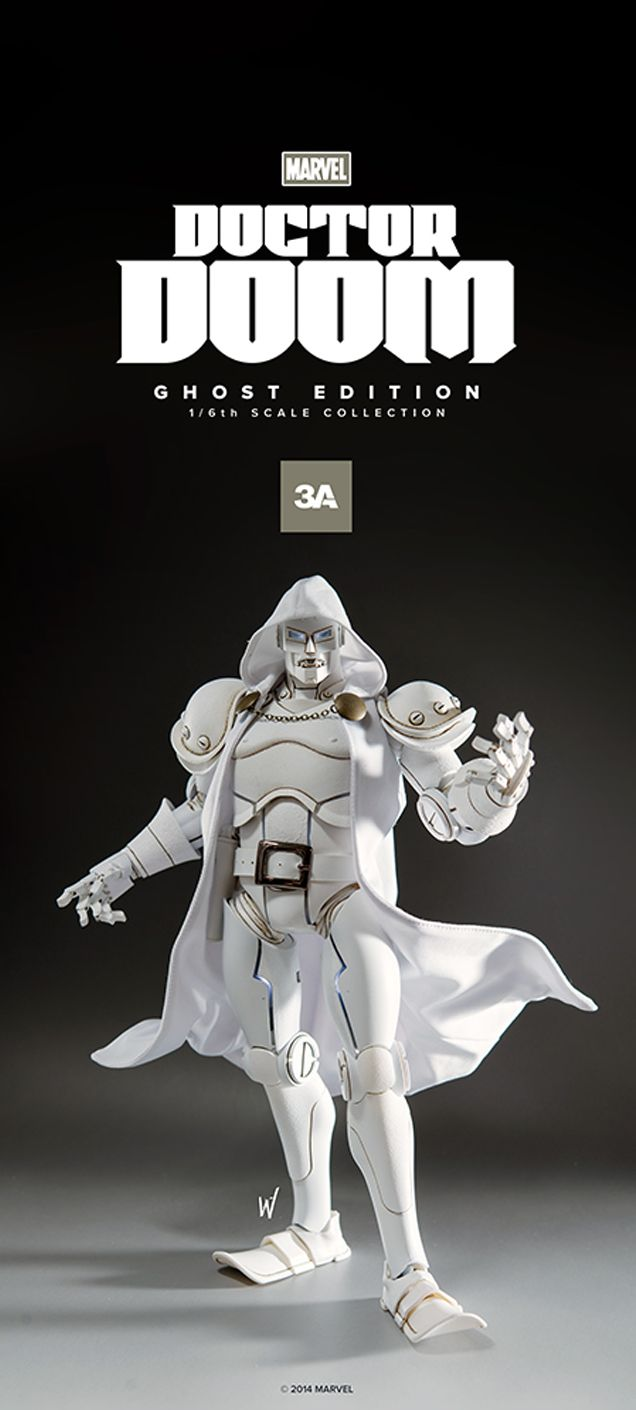Holy crap, this Doctor Doom figure is magnificent
