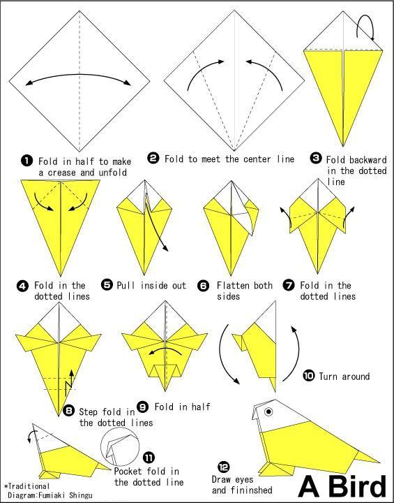 tutorial origami unik