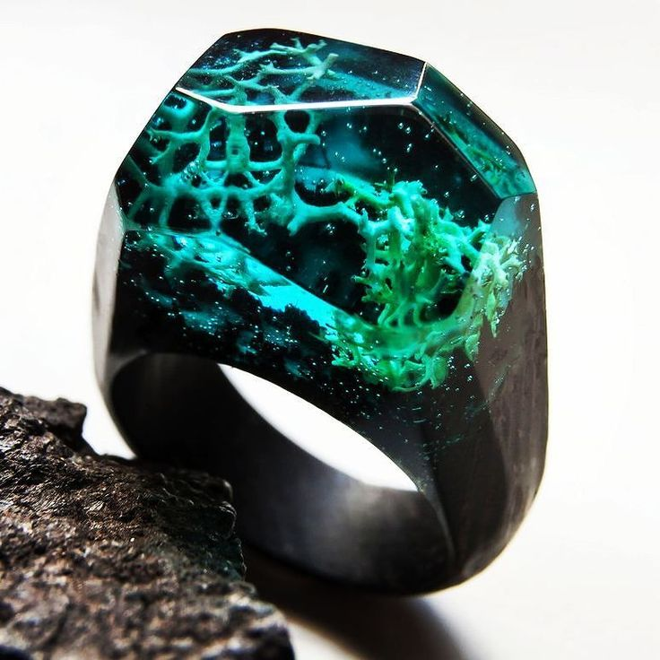 Discover new worlds with rings of Greenwood  #greenwood #greenwoodring #corals #discovery