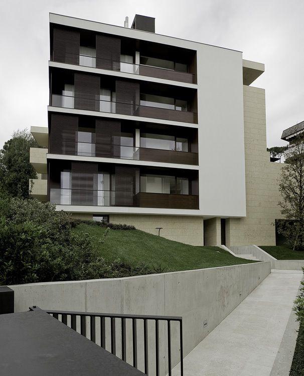 Bergamo (BG), Italia  TEKA STUDIO, Francesco Valesini, Nadia Bratelli - Edificio residenziale, Bergamo, Italia