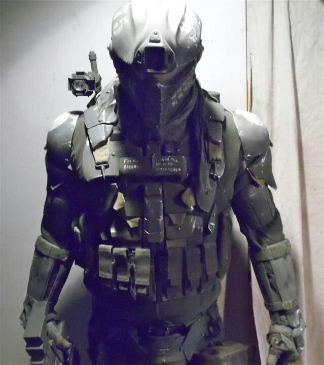 Hardcore ballistic stealth armor,something I'd imagine Snake eye's styling.