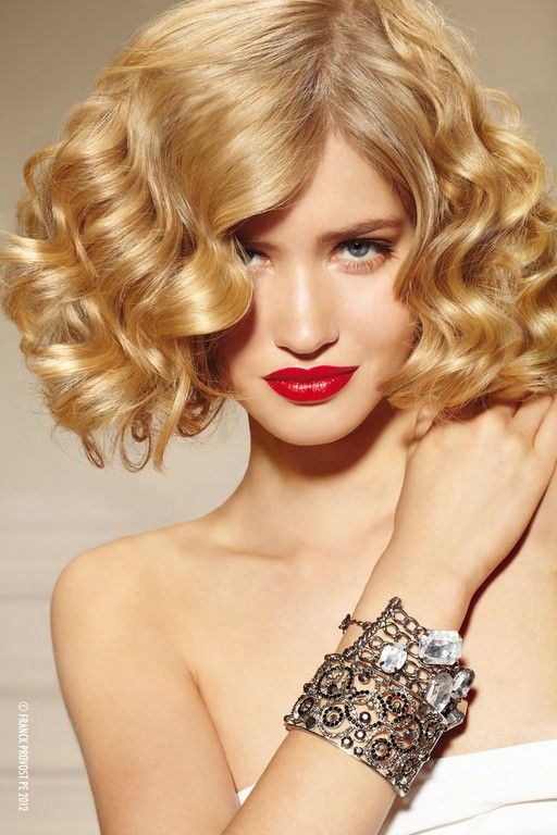 Hairstyles Spring Summer 2012Curly Hairstyles, Wavy Bobs, Bobs Hairstyles, Shorts Hair, Medium Length Hairstyles, Waves, Hair Style, Medium Hairstyles, Medium Curly