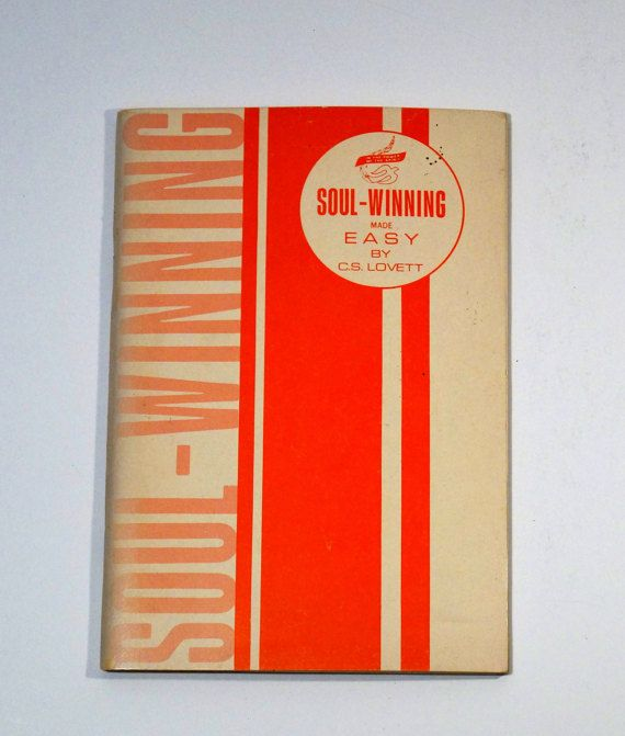 Vintage Personal Christianity Book  Soul-Winning Made Easy