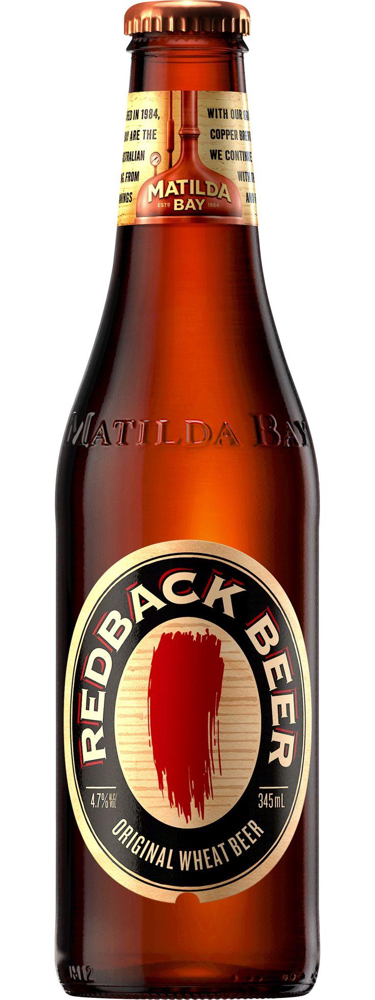 Matilda Bay; Redback beer.