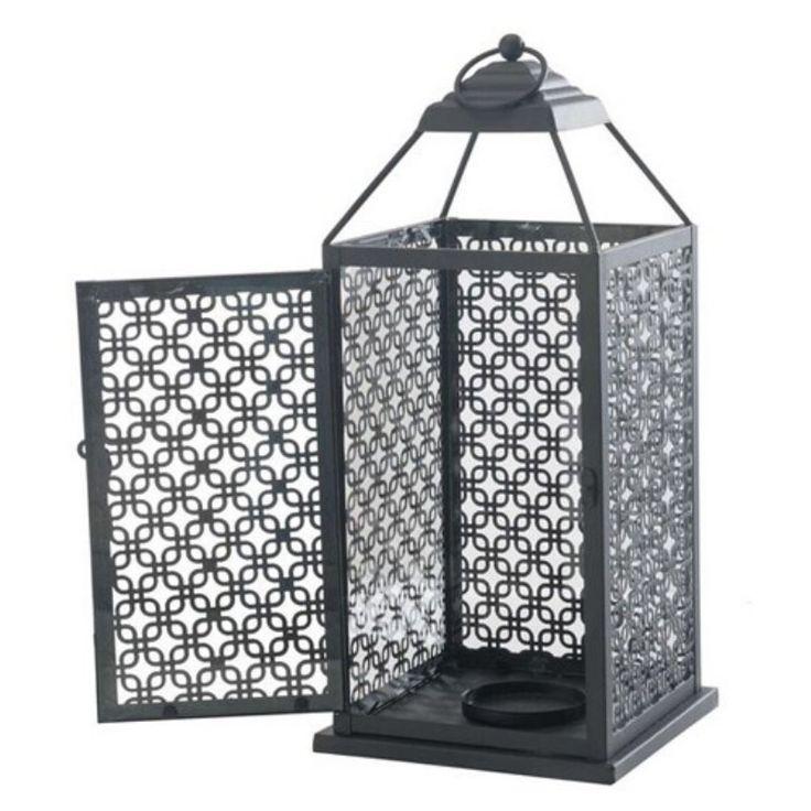 Sunjoy Metal Lantern - 110601002