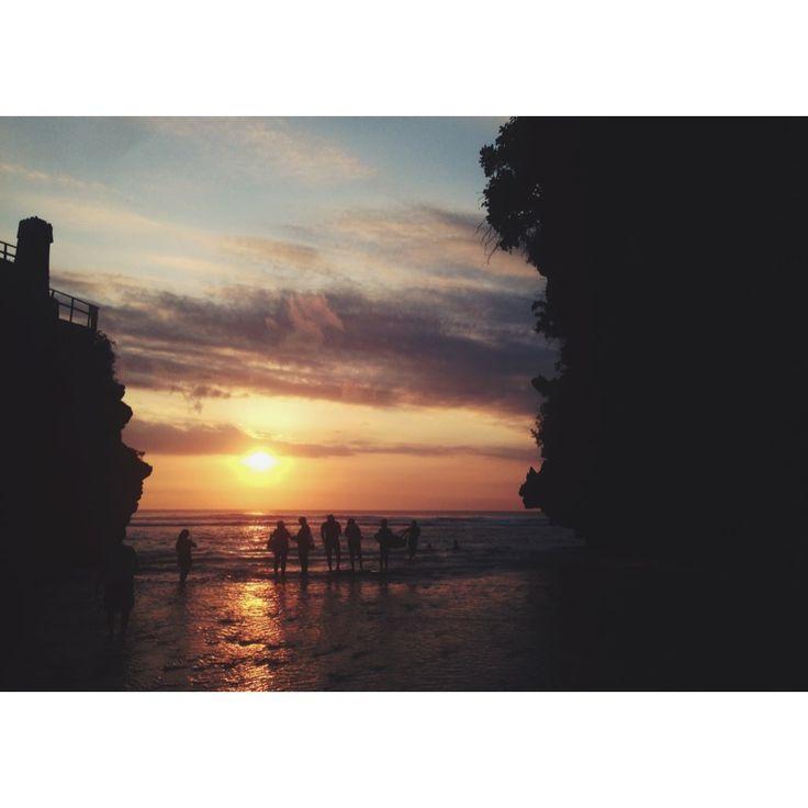 #uluwatu #sunset #bali