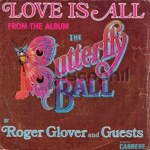 That was yesterday: Roger Glover & Guests - Love Is All [1974 The Butt...