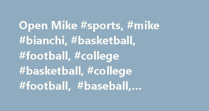 Open Mike #sports, #mike #bianchi, #basketball, #football, #college #basketball, #college #football, #baseball, #hockey, #orlando, #central #florida http://income.nef2.com/open-mike-sports-mike-bianchi-basketball-football-college-basketball-college-football-baseball-hockey-orlando-central-florida/  # Open Mike Stephen M. Dowell / Orlando Sentinel Florida head coach Jim McElwain watches during the Buffalo Wild Wings Citrus Bowl game of Florida versus Michigan at the Orlando Citrus Bowl on…