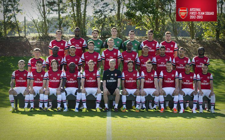 The Gunners 2012-2013