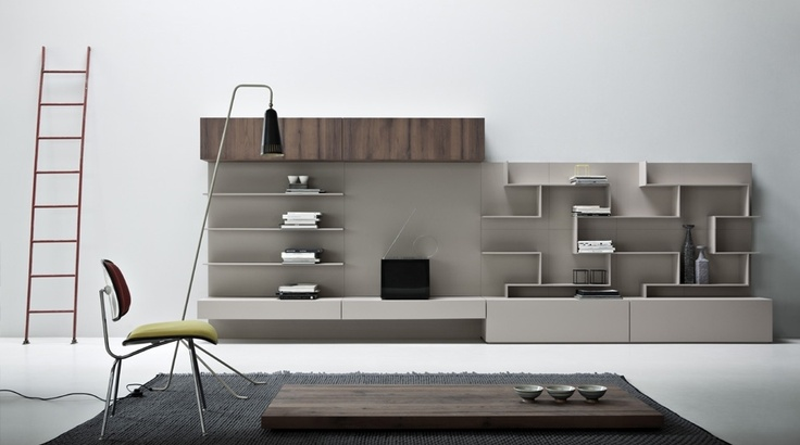 Zampieri - K #living in rope mat lacquer and planked oak.