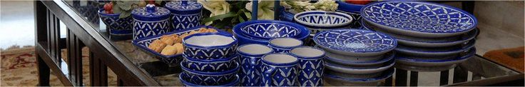 Blue pottery is an industry that provides livelihood to many people in Jaipur. The traditional designs have been adapted, and now, apart from the usual urns, jars, pots and vases, you can find tea sets, cups and saucers, plates and glasses, jugs, ashtrays and napkin rings.