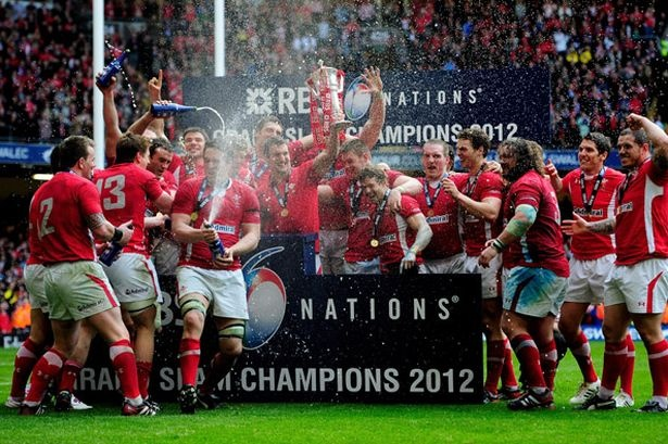 Six nation champions!!!! Grand slam winners! <3