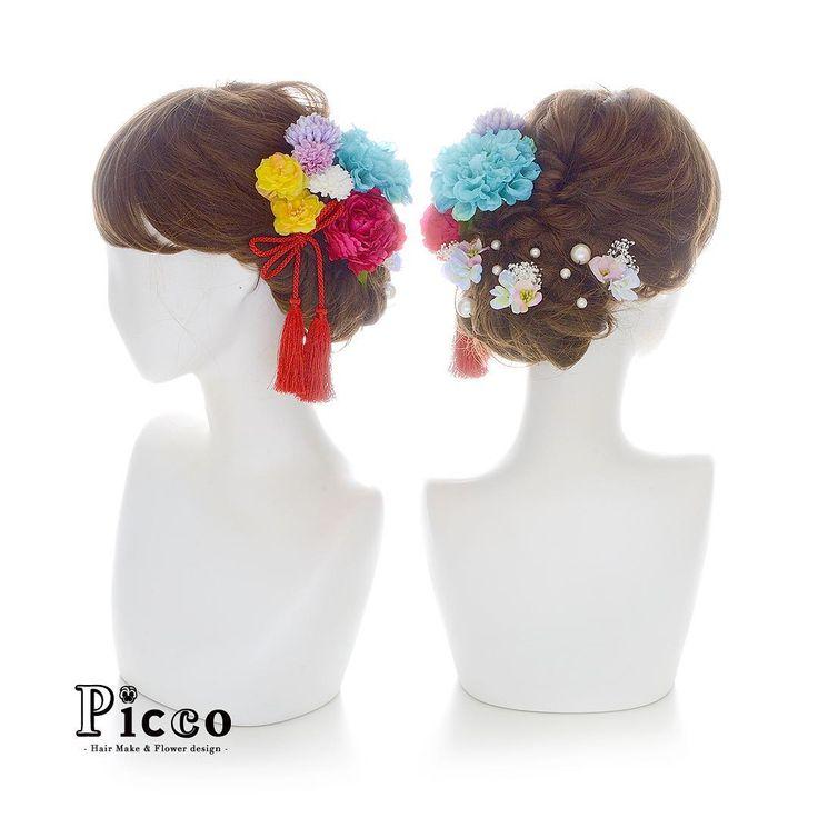🌸 Gallery 743 🌸  .  【 成人式 #髪飾り 】  .  #Picco #オーダーメイド髪飾り #振袖 #成人式  .  ビビッドなピンクのローズをメインに、振袖柄からセレクトしたカラーのマムと小花で盛り付けました💙💛💖✨.  コントラストを効かせた選色で大人な雰囲気を演出しています😍💕 .    #ピンク  #タッセル  #ビビッド  #和スタイル  #成人式ヘア  .  デザイナー @mkmk1109  .  .  .  #フラワーアクセサリー #個性的 #花飾り #アーティフィシャルフラワー  #ハタチ #和装 #振袖ヘア #furisode #ヘアアレンジ  #ヘアアクセサリー #和装ヘア #薔薇 #和 #👘  #成人式髪飾り #成人式髪型 #kimono #前撮り    #vivid #hairarrange