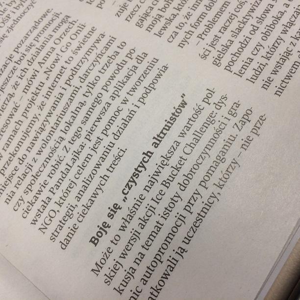 W Tygodniku Powszechnym opowiadamy o Now! Go Online i o tym dlaczego organizacje powinny się promować:)   Zajawka: http://tygodnik.onet.pl/kraj/ice-bucket-challenge-sie-promuje-sie-pomaga/wmfdf