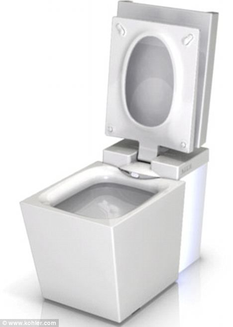 self opening toilet seat. Kohler s Numi  6 400 high tech toilet does most of the dirty work for you video 57 best things images on Pinterest Toilet seats