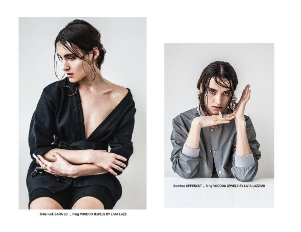 Nou Magazine Photography: Marcello Arena Fashion: Veronica Mazziotta Model: Roksana