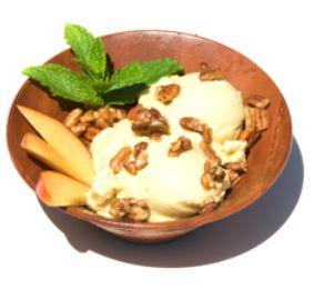 Raw Vegan Peach Ice Cream | Desserts | Pinterest