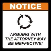 Attorney notice