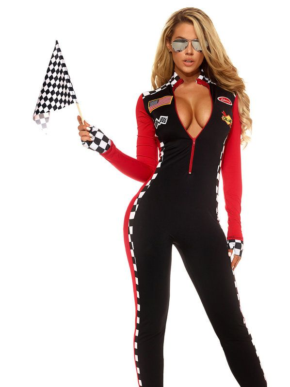 Check out Women's Top Speed Sexy Racer Costume - Sports Costumes from Costume…