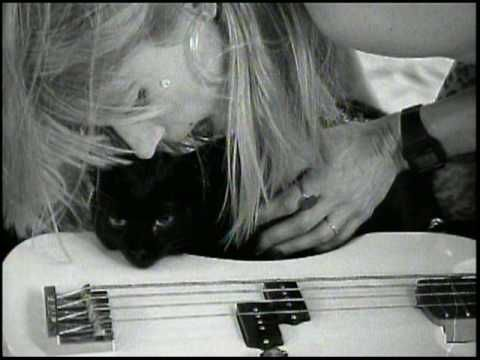 Kim Gordon with a black cat? Does it get better than this? No.