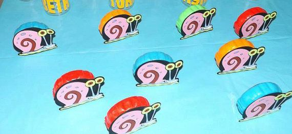 10 Gary the Snails to use on gum by the by InspiredbyLilyMarie