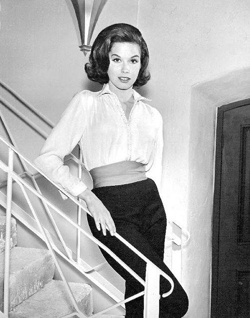 Mary Tyler Moore, 1962.