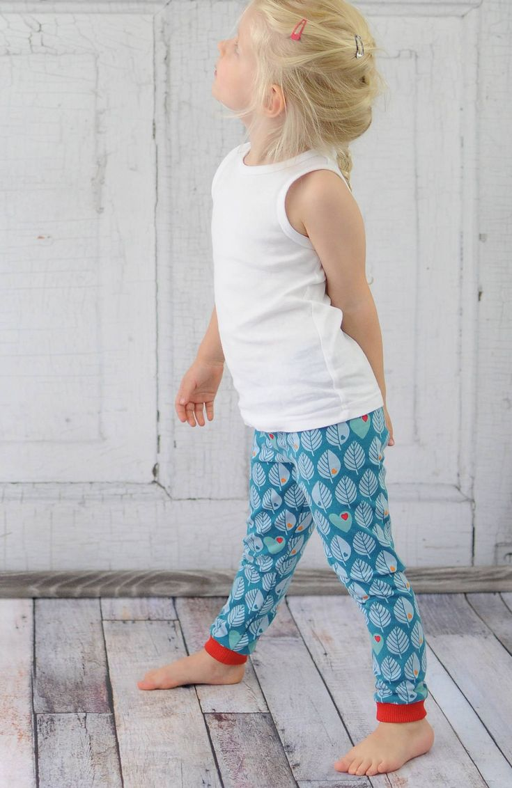 ♥ FREEBIE ♥ – Gratis Leggings Schnittmuster für Kinder