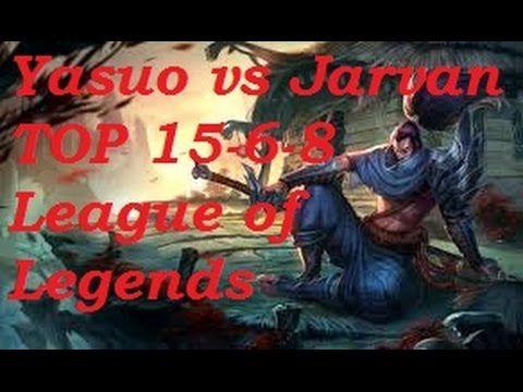 Platinum - Yasuo vs Jarvan top 15-6-8