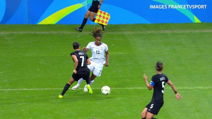 JO 2016 : France-Nouvelle-Zélande, 3-0, buts et qualif. en 1 mn !