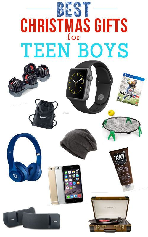 Christmas shopping for a teenage boy? We've got you covered! From the GoPro to a brand new electric razor, we have thought of everything that could possibly be on their wish list.GoPro Whether you're...
