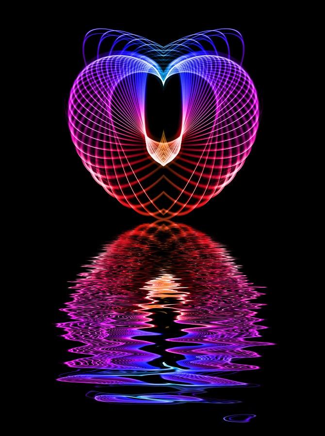 luminography heart