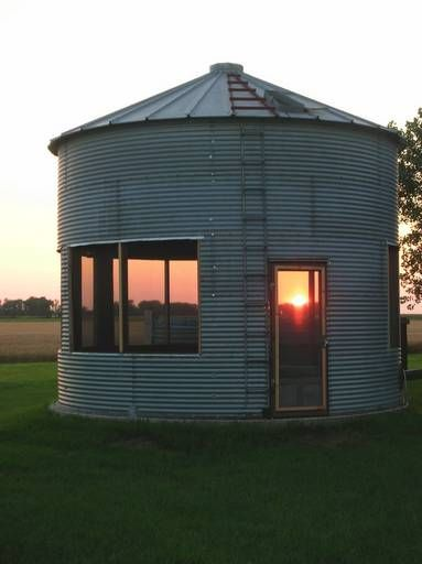 How cool is this, not sure if my husband will give up the grain storage for the occasional guest though