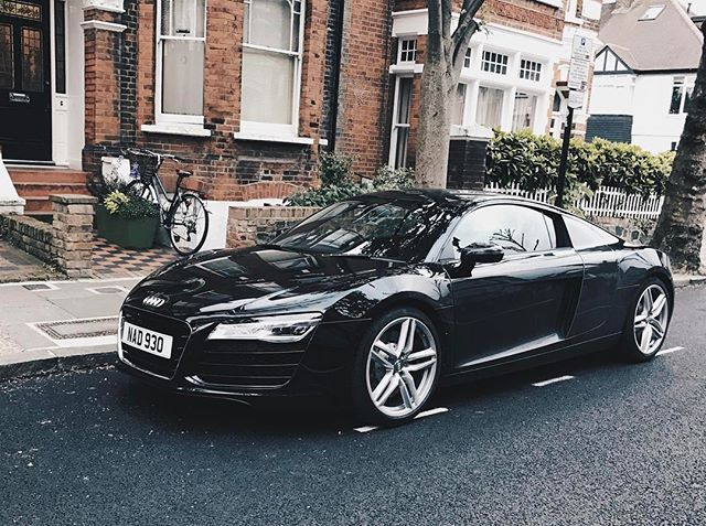 REPOST!!!  Audi R8 V8. Spotted in Hampstead.  Cost: from £94,975 . . . . #spotterofluxury #watchspotting #rolex #wristgame #mercedes #watchspotter #carspotting #audir8 #submariner #luxury #lifestyle #cars #carsofinstagram #repost #luxurylife #luxurytravel #luxury4play #luxurylifestyle #luxurycars #luxurystyle #luxuryfashion #luxuryhomes #chronograph #millionairemindset #millionairelifestyle #v8 #r8 #audi #rich  Photo Credit: Instagram ID @spotterofluxury