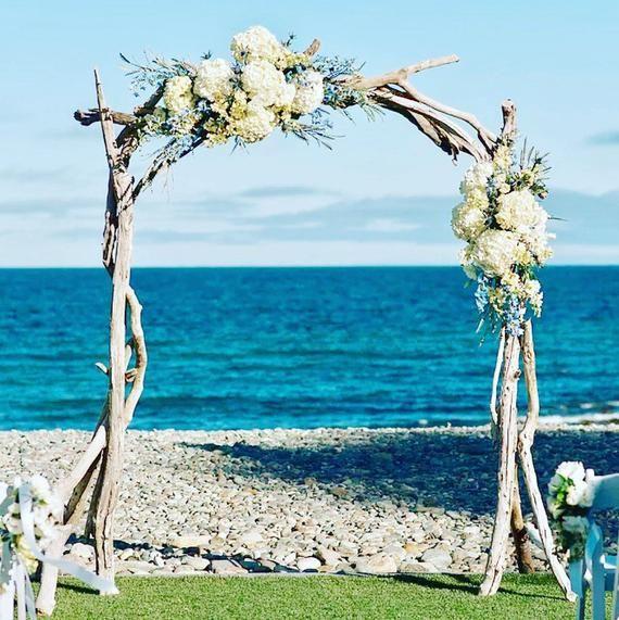 Driftwood Wedding Arch Arbor Wedding Ceremony Arbor Etsy Driftwood Wedding Arches Driftwood Wedding Beach Wedding Reception