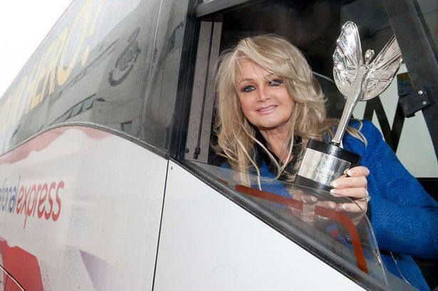 © Rowan Griffiths/Daily Mirror  #bonnietyler #gaynorsullivan #gaynorhopkins #thequeenbonnietyler #therockingqueen #rockingqueen #music #rock #2013 #theprideofbritain