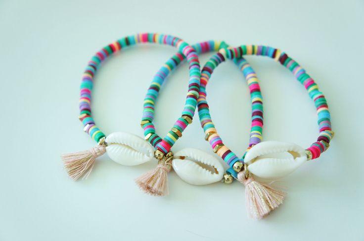 - Cowrie shell bracelet