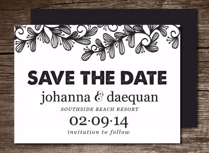 25+ Printable Save the Date Invitation Templates u2013 Word,PSD,PDF - invite templates word