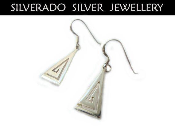 Ancient Greek Eternity Key Triangular by SilveradoJewellery, €15.00