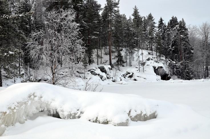 Kainiemi in winter 2013