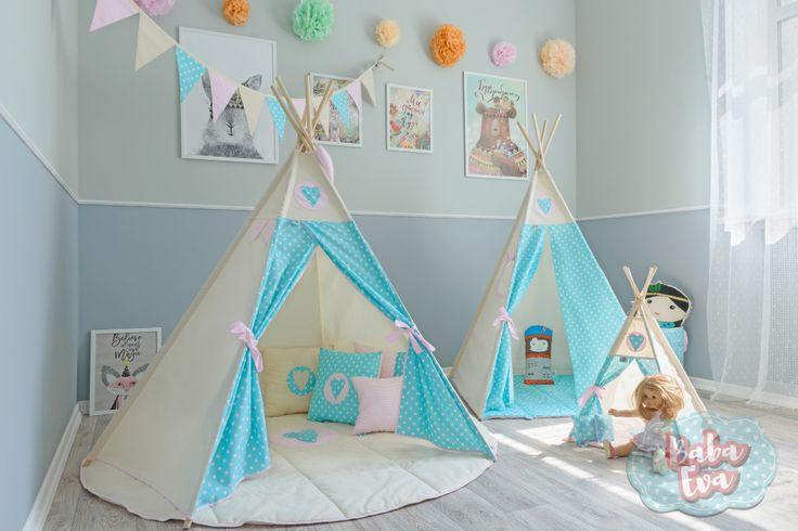 Полная коллекция текстиля для детской комнаты - 'Баба Ева'.