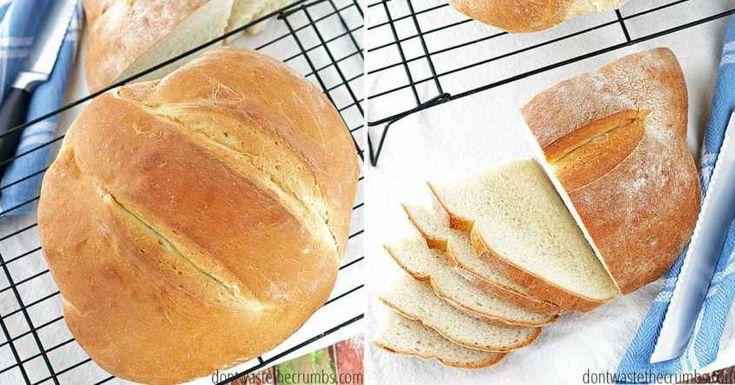 Chlieb hotový za 90 minút a tak ľahký, že sa nemôže nepodariť