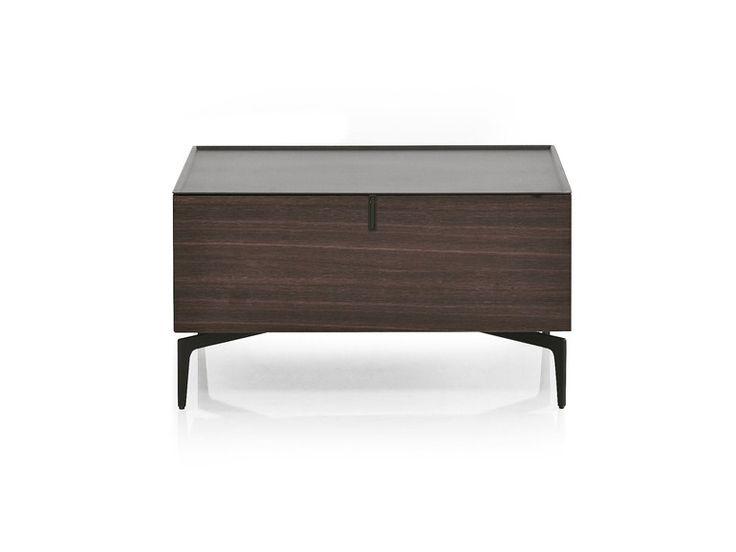 Wooden bedside table designs - Meridien By Alivar Giuseppe Bavuso Nightstand