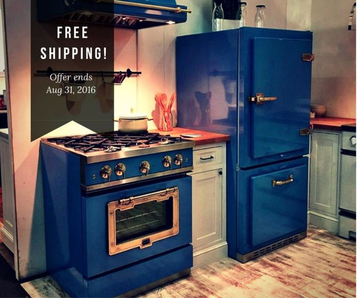 Happy Kitchen. Happy Home! The Big Chill Classic fridge will be launching at the end of the year. What do you think? In the meantime take advantage of our FREE SHIPPING offer this week!