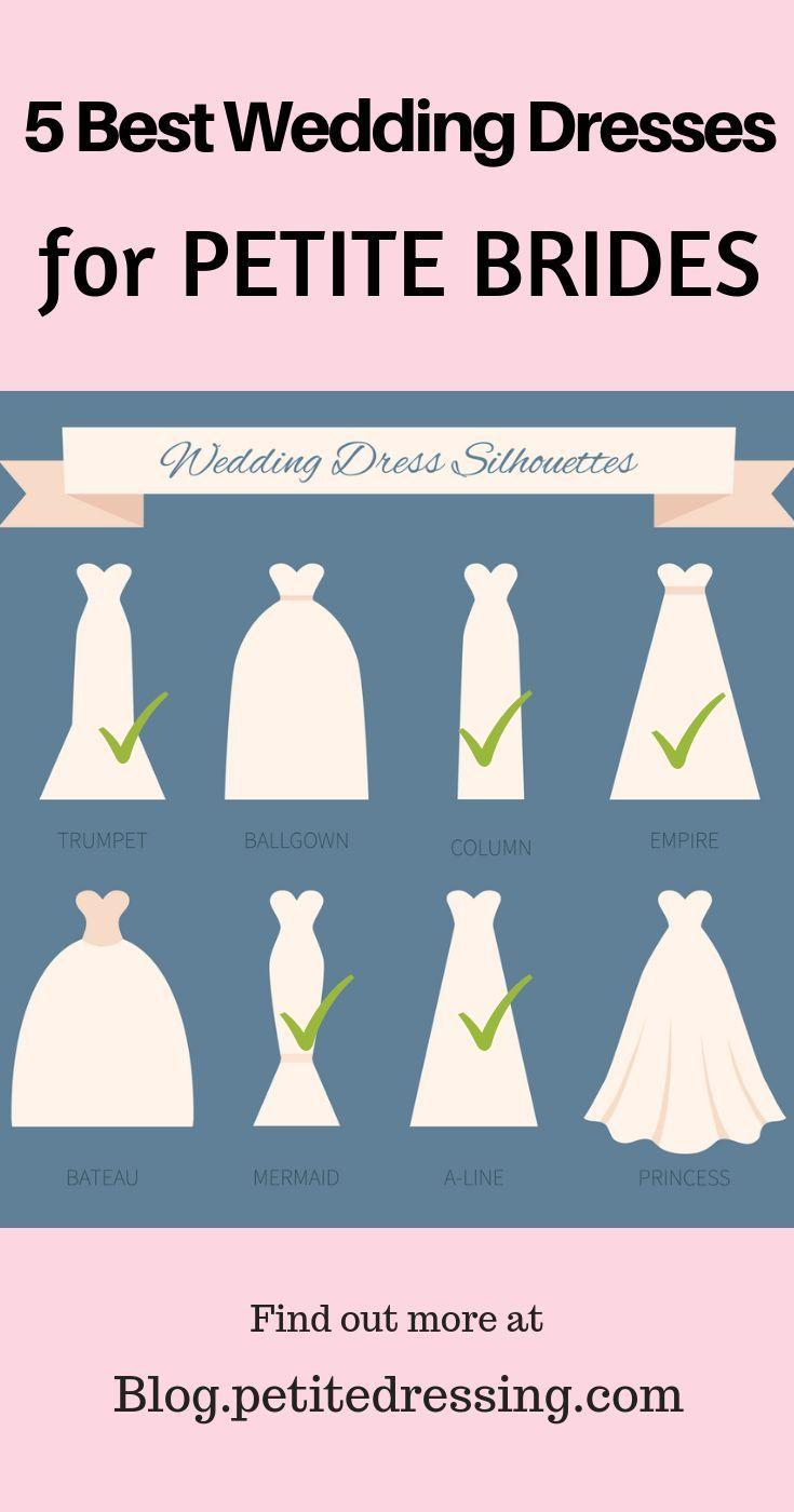 Petite Wedding Dresses Top 5 Choices For Short Brides Petite Bride Petite Wedding Dress Petite Bride Wedding Dress