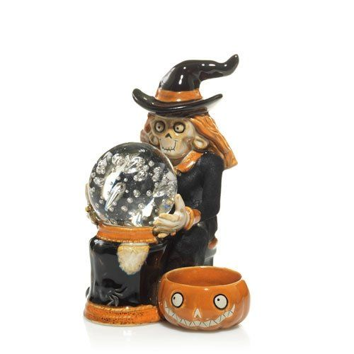 Yankee Candle Boney Bunch 2011 Witch with LED Crystal Ball * Click on the image for additional details.