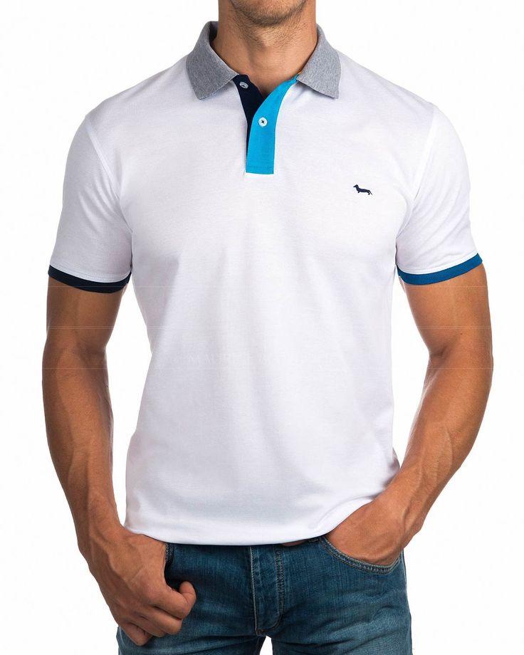 Polos Harmont & Blaine ® Blanco | ENVIO GRATIS