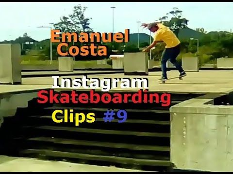 Emanuel Costa   Instagram Skateboarding Clips 9