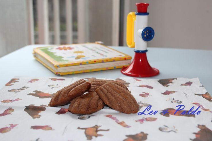 Leo & Poldo: Similmaddalene al cacao con cuore alla vaniglia (vegan)